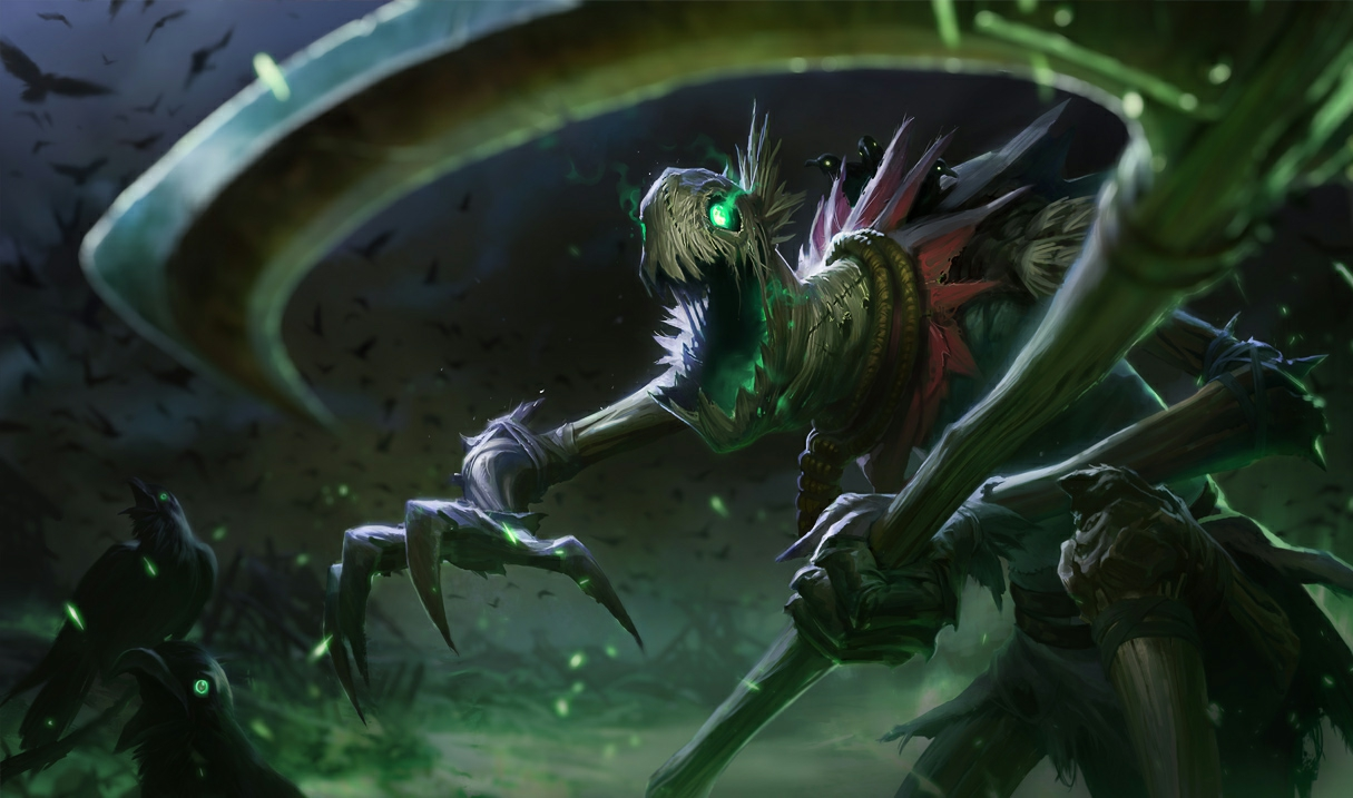 League Of Legends Fiddlesticks Rework Teased In Terrifying Video