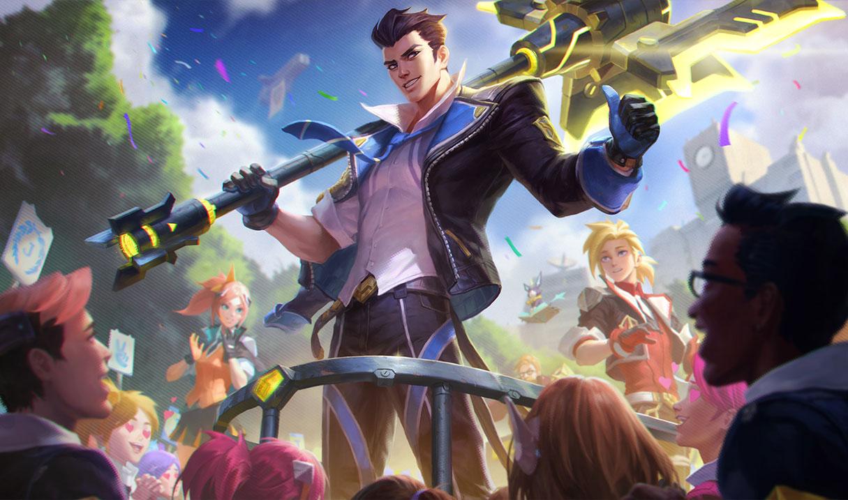 League of Legends: Battle Academia skin rankings